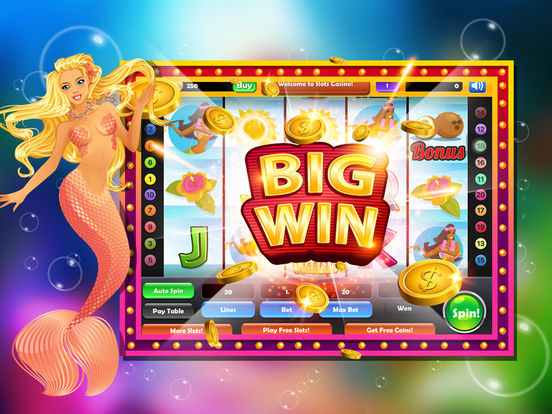 Atlantis Casino Craze : 3-Reel Party Slots Machine screenshot 7