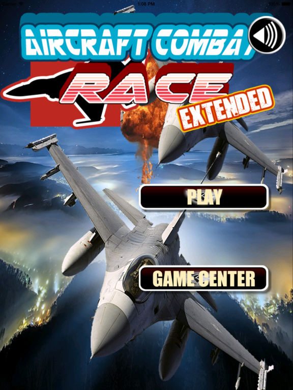 Aircraft Combat Race Extended - Amazing Speed In The Clouds screenshot 6