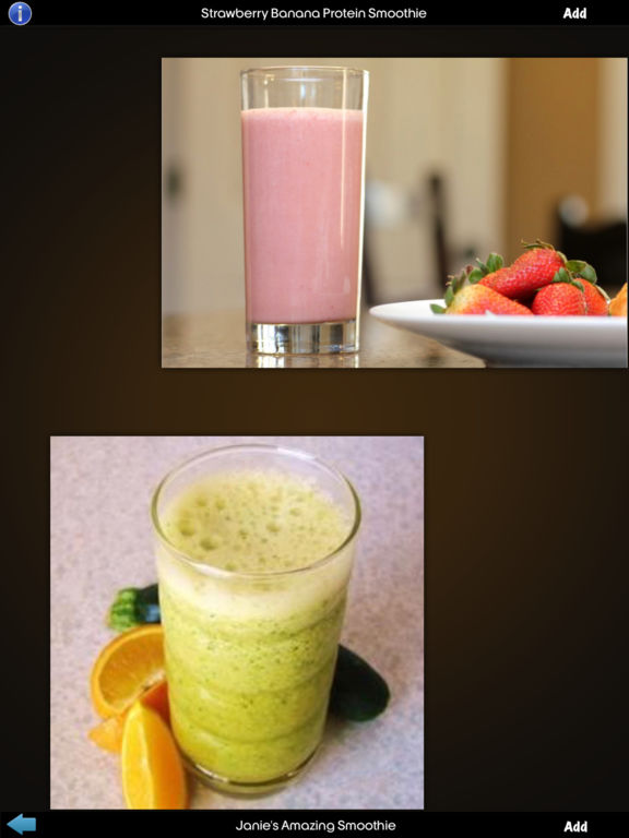 Smoothie Recipes Info Kit screenshot 7