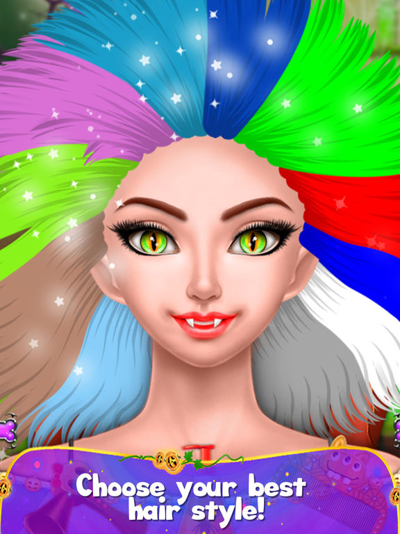 Halloween Girl Party Makeover screenshot 8