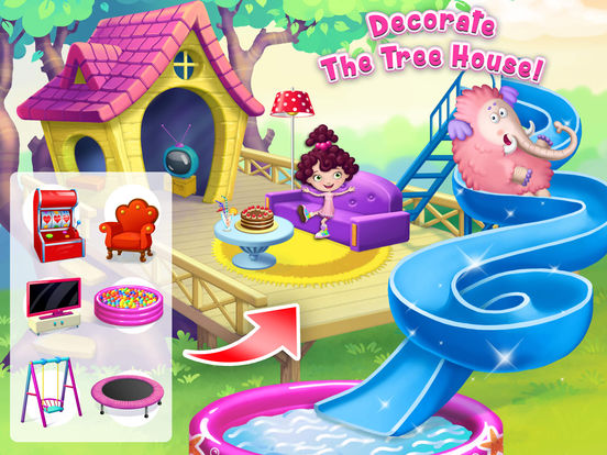 Mia and Her Mammoth – Secret Giant Pet Care screenshot 8