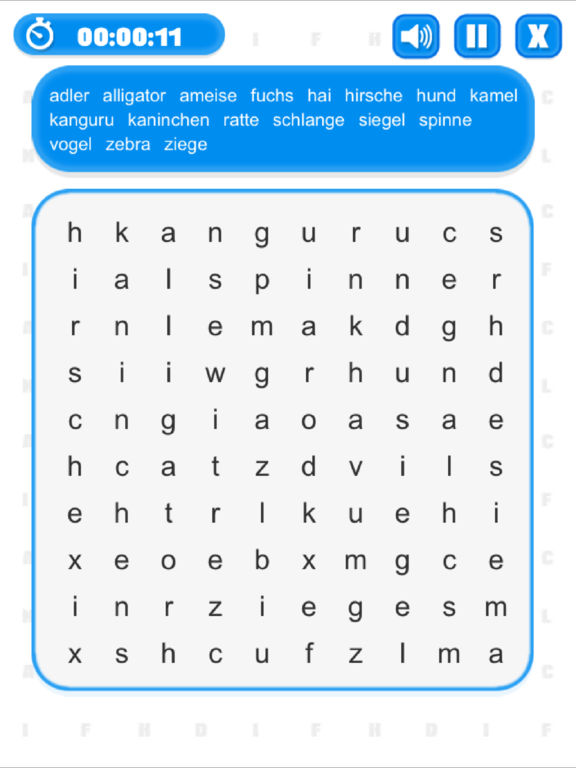 Word Search (Multilingual) screenshot 10