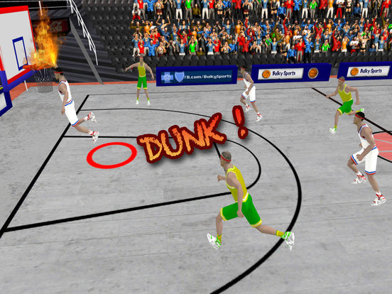 Basketball LIVE slam dunks: Extreme basketball hoops to practice for NBA titles by BULKY SPORTS screenshot 6