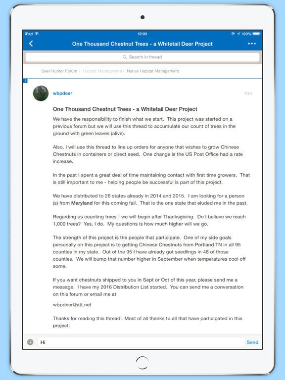 Deer Hunter Forum screenshot 5