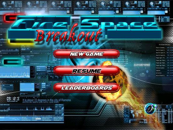 Fire Space Breakout - The Sphere Break Simulator screenshot 6