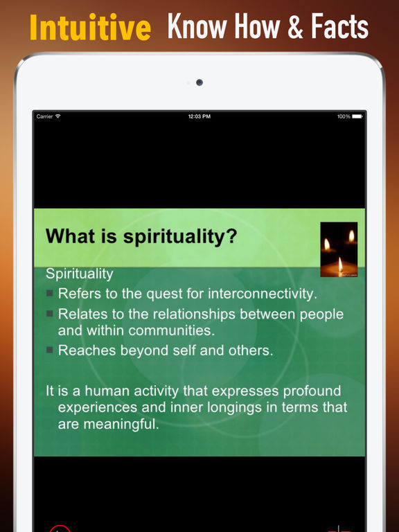 Spirituality Glossary: Cheatsheet with Study Guide screenshot 6
