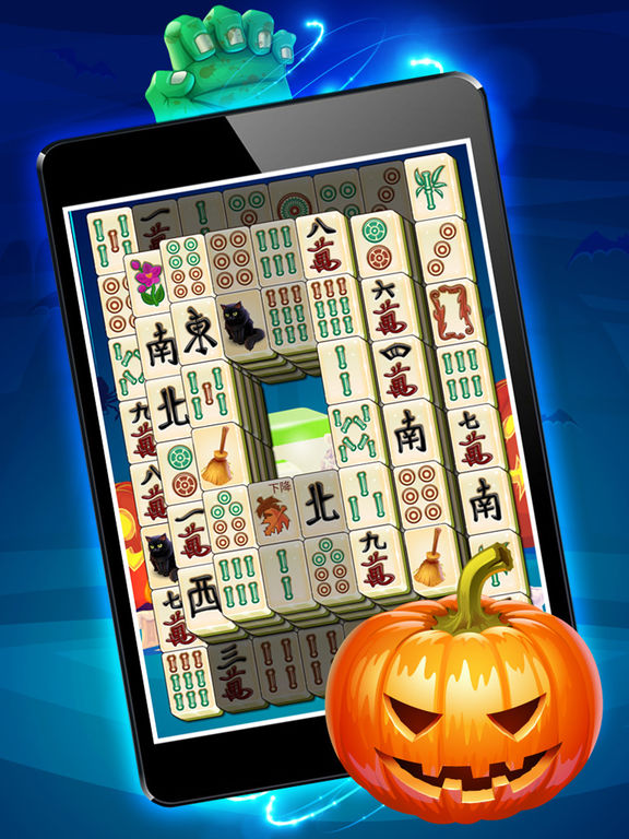 Magic Halloween Mahjong - Haunting Classic Majong screenshot 9