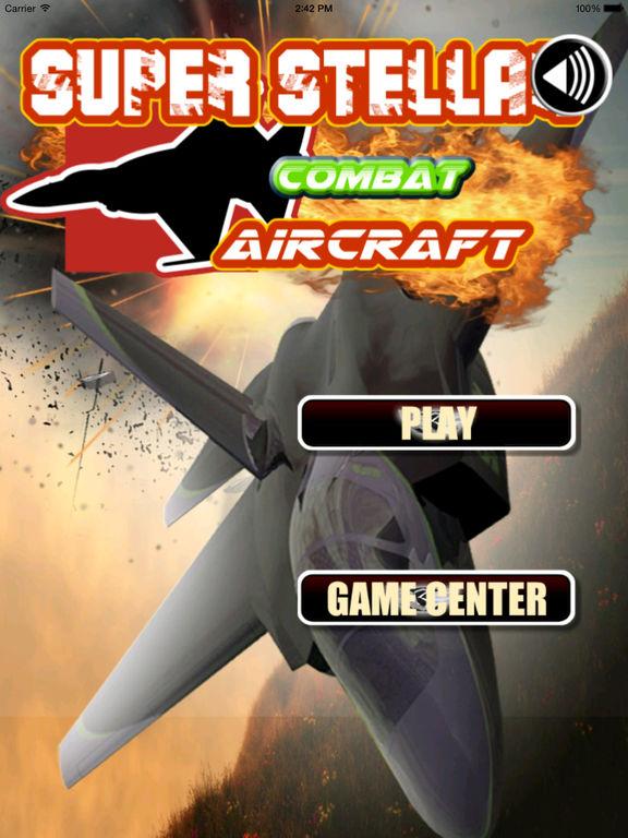 A Super Stellar Combat Aircraft Pro - Explosive Game Of Flight Simulation screenshot 6