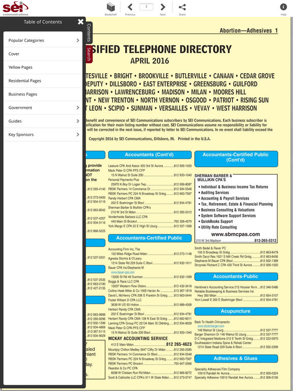 SEI Phone Book screenshot 7