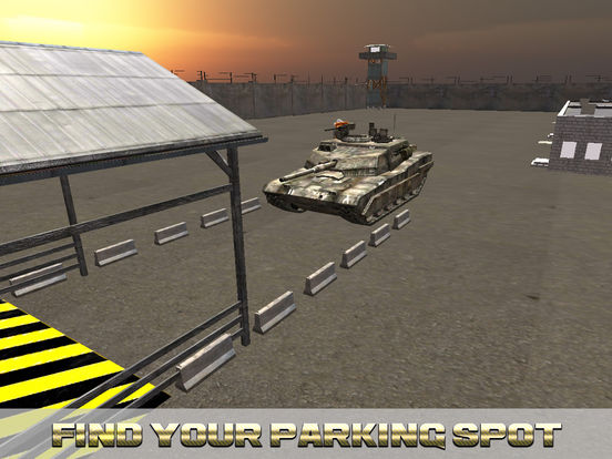 Military Tank Real Parking screenshot 7