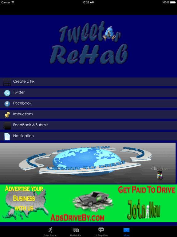 Tweet ReHab Lite screenshot 3