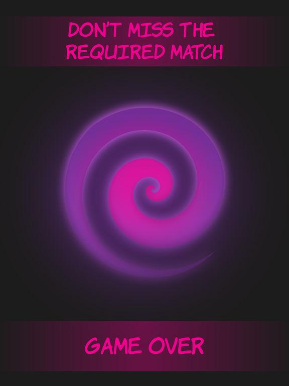 Pink circle shape to shape screenshot 6