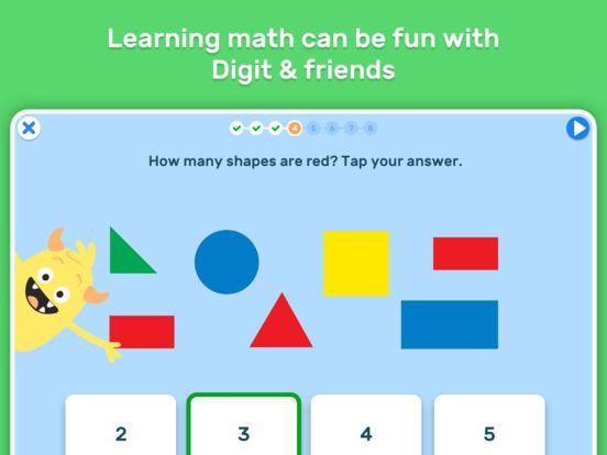 GO Math! GO – Fun learning for grades K, 1st & 2nd screenshot 6