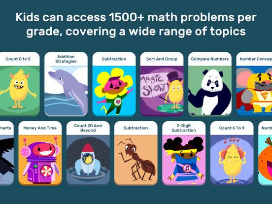 GO Math! GO – Fun learning for grades K, 1st & 2nd screenshot 7
