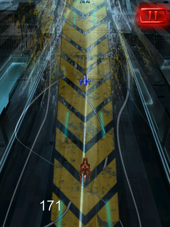 Super Spacecraft Track Pro - Game Ship Fighter Lightning screenshot 9