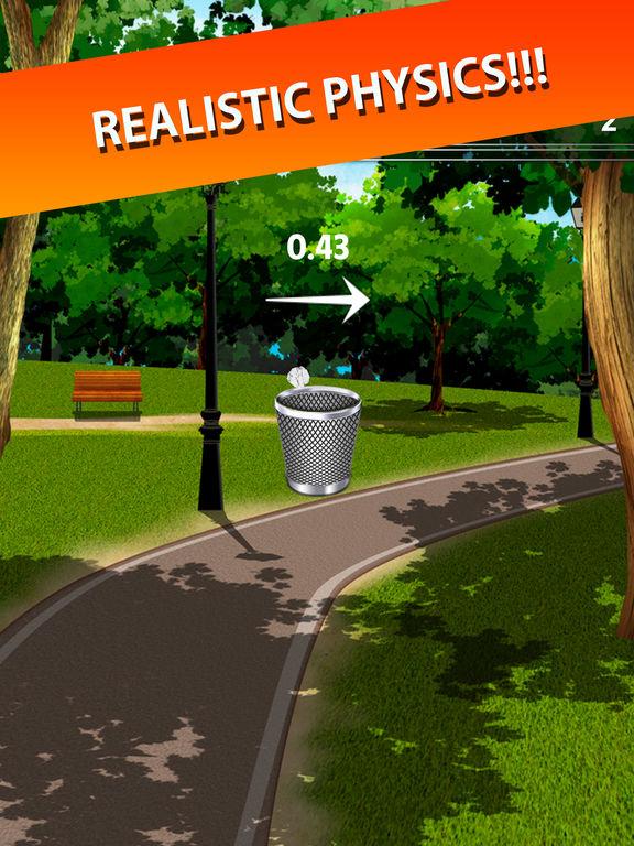 Trash Toss: Paper Flings screenshot 6