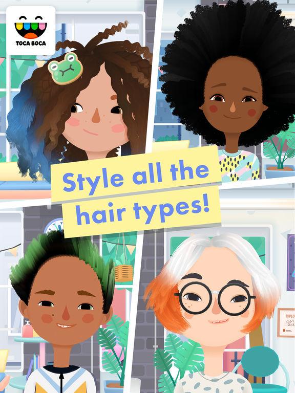 Toca Hair Salon 3 screenshot 8