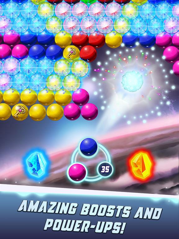 Bubble Shooter Galaxy Explore screenshot 7