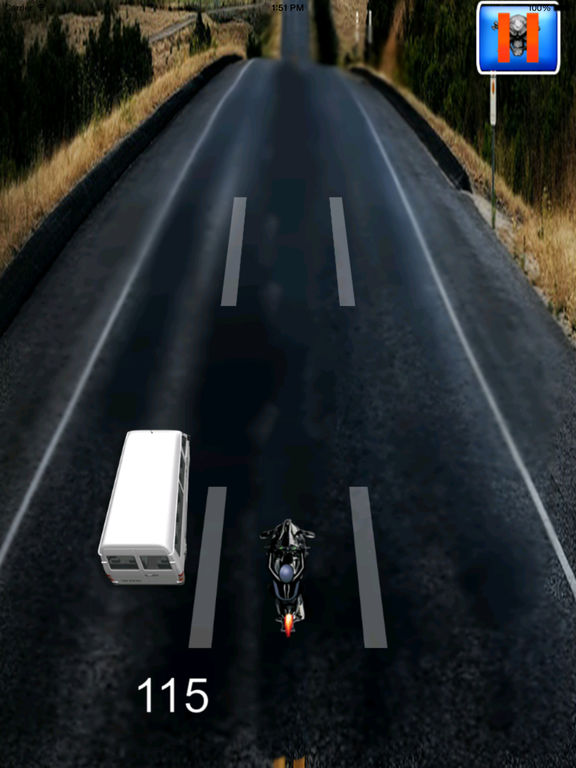 A Motorbike Highway In Speed - Powerful High Race Driving screenshot 9