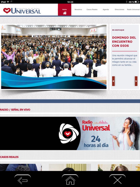 Radio Universal Colombia screenshot 6