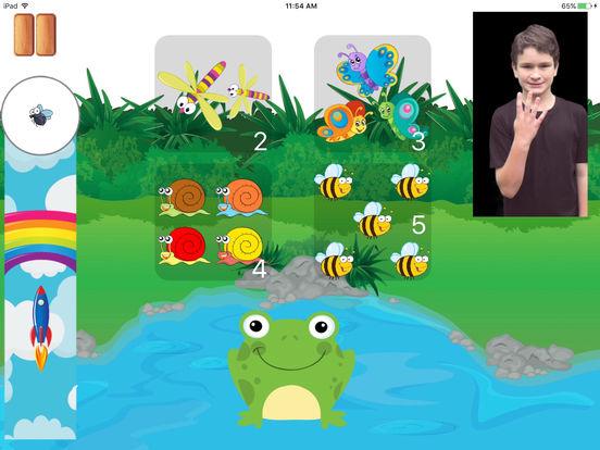 Kids4Sign Numbers screenshot 7