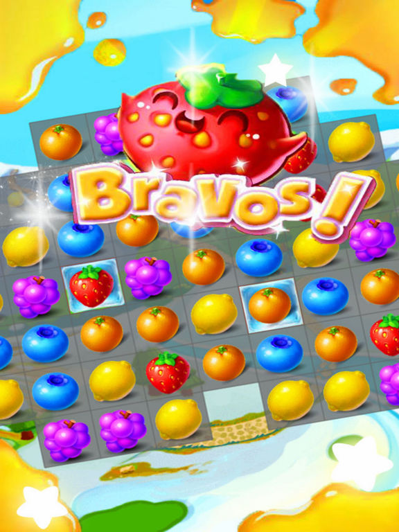 Sky Fruit War - Balst Jam screenshot 5