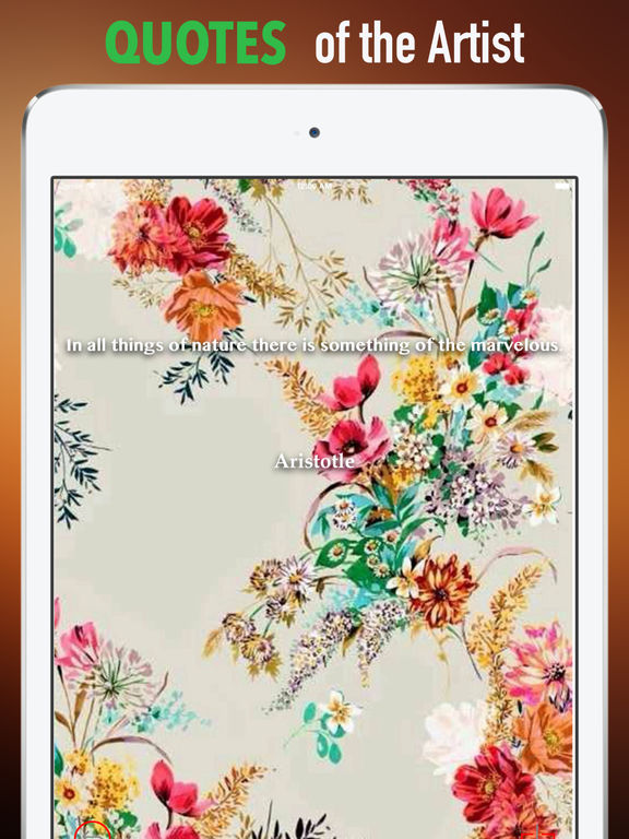 Wallpapers for Floral: HD Backgrounds with Pictures screenshot 9