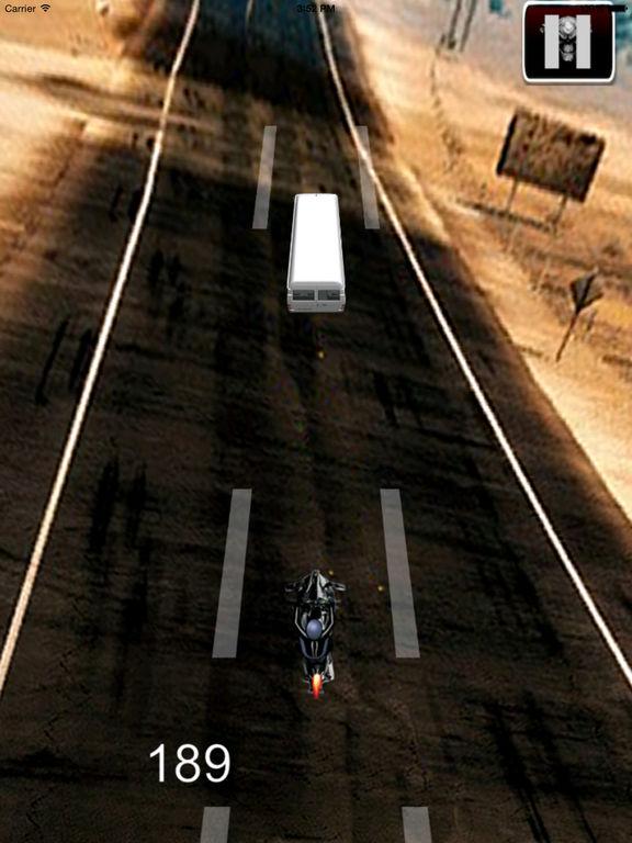 A Speed Endless Biker - Simulator Motorcycle Driver Game screenshot 7