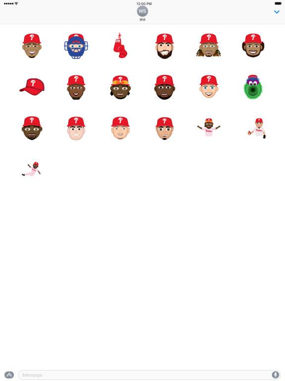 Philadelphia Phillies 2016 MLB Sticker Pack screenshot 3