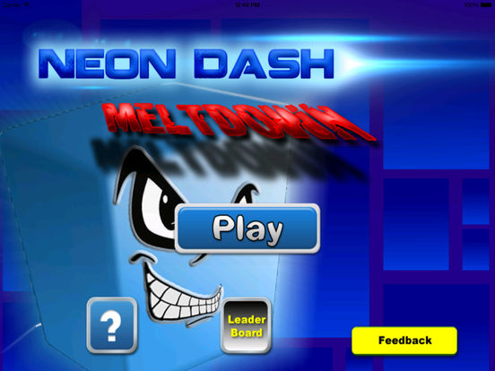 A Neon Dash Meltdown - Avatar Jumping In The Amazing World screenshot 6