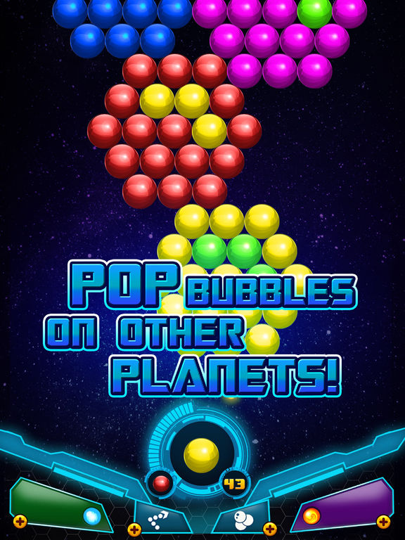 Bubble Shooter Sky Escape screenshot 10