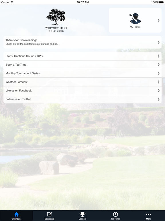 Whitney Oaks Golf Club screenshot 7