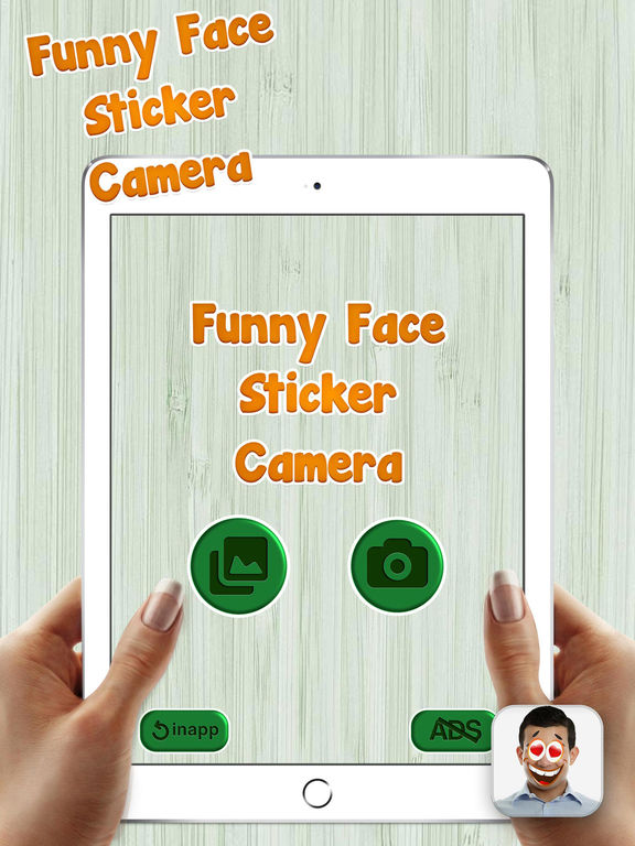 funny face app iphone app shopper sticker yourself 1346