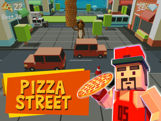 Pizza Street – Deliver that pizza! screenshot 6
