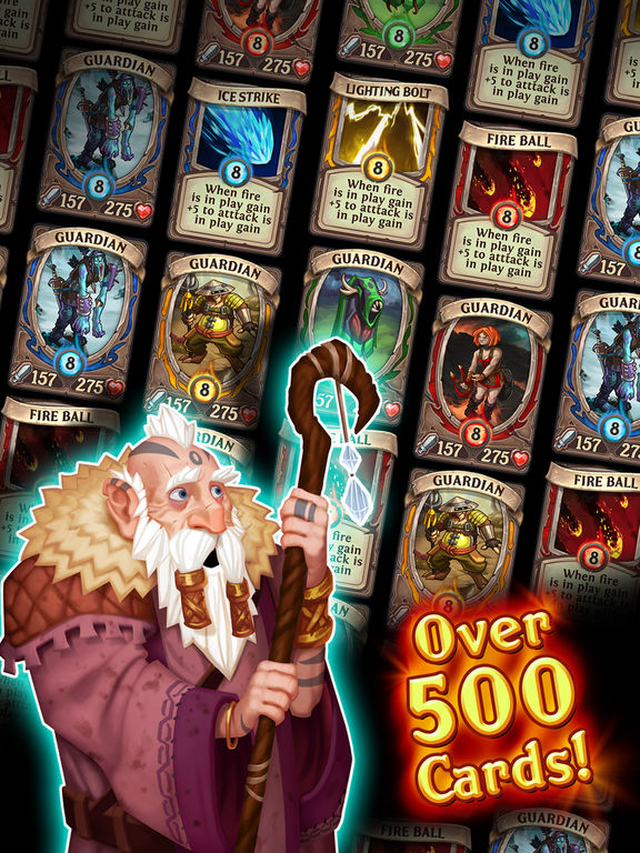 Heroes Of Battle Cards screenshot 8