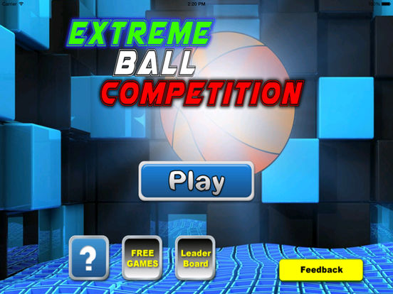 Extreme Ball Competition - Crazy Ball Game Geometric screenshot 6