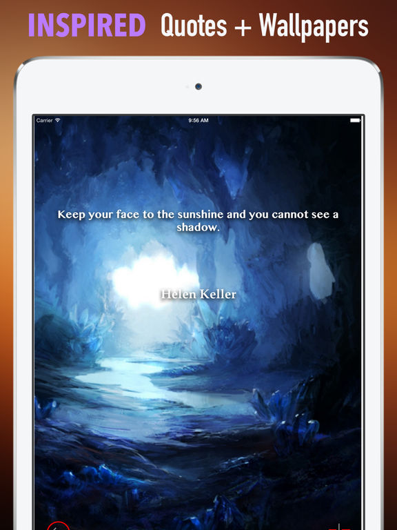 Cave Wallpapers HD- Quotes with Art screenshot 10
