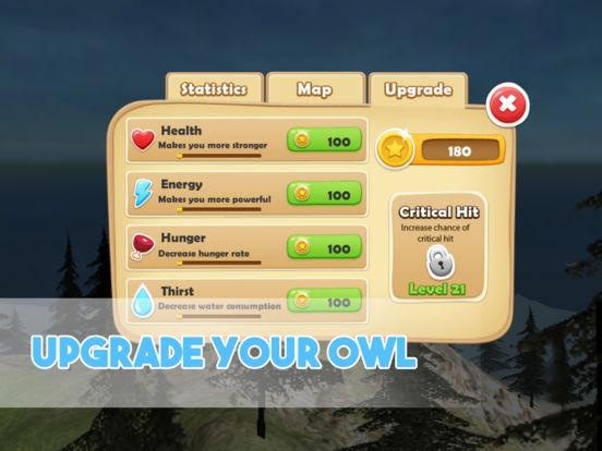 Forest Owl Simulator - Be a wild bird! screenshot 8