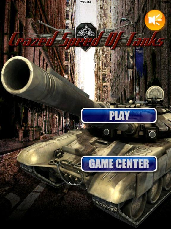 Crazed Speed Of Tanks - A Iron Tank Game screenshot 6