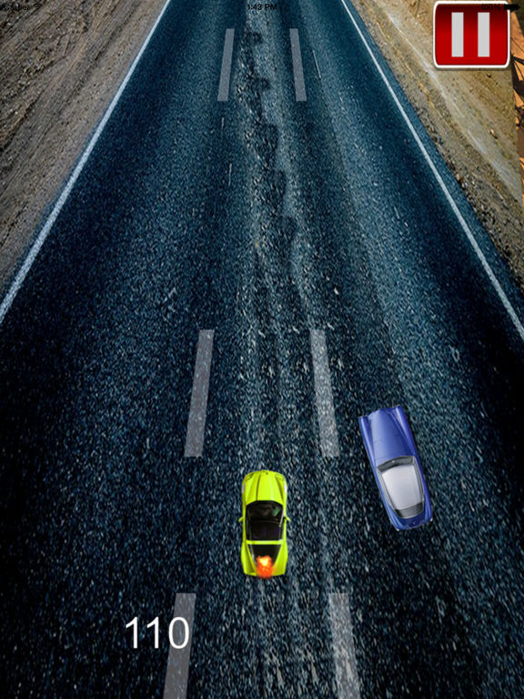 A Speed Endless To White Car Pro - A Hypnotic Game Of Driving screenshot 9