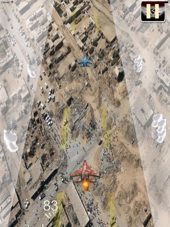 Flight Simulator Aircraft - Airplane Carrier Landing Lite Game screenshot 10