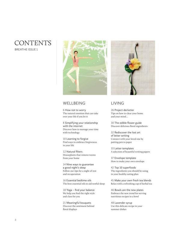 Breathe Magazine. screenshot 7