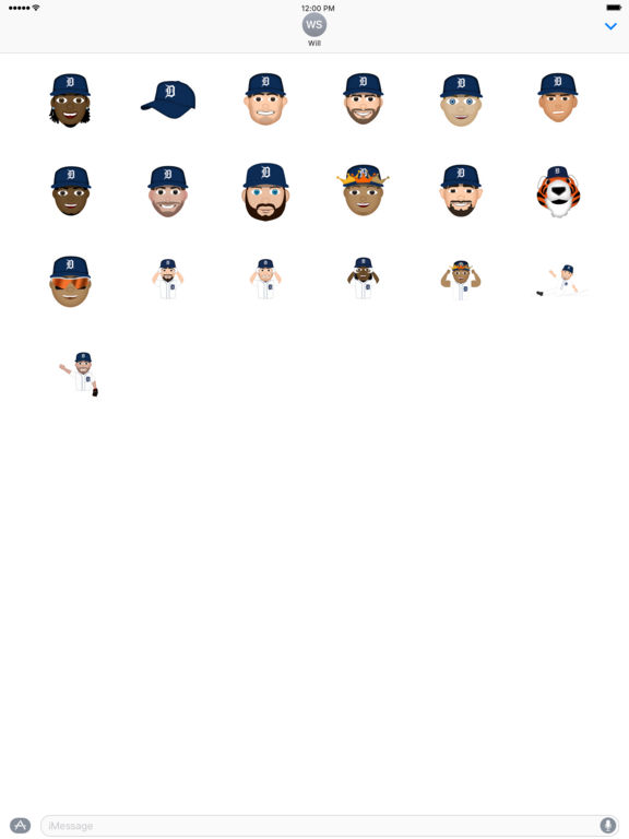 Detroit Tigers 2016 MLB Sticker Pack screenshot 3