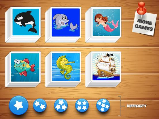 Find The Pairs - The Ocean Edition (Premium) screenshot 7