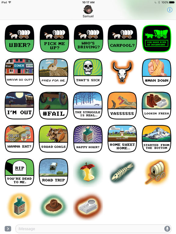 The Oregon Trail Stickers screenshot 4
