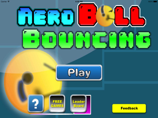 Aero Ball Bouncing - Jump to the Sky screenshot 6