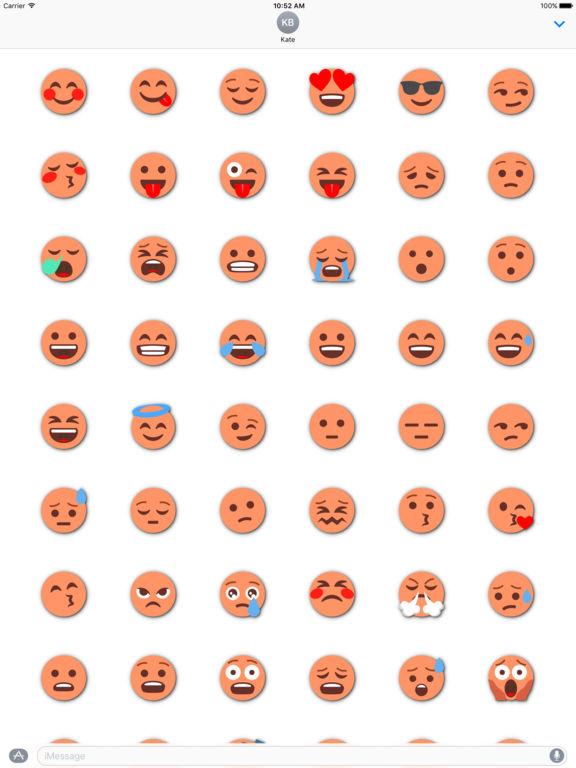 ORANGE Emoji • Stickers screenshot 6