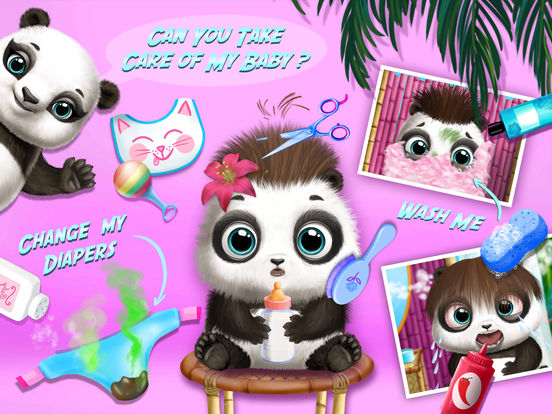 Baby Animal Hair Salon 2 screenshot 7