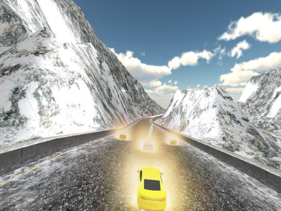 Airborne Car Race : New Free Racing Mania 2016 screenshot 4