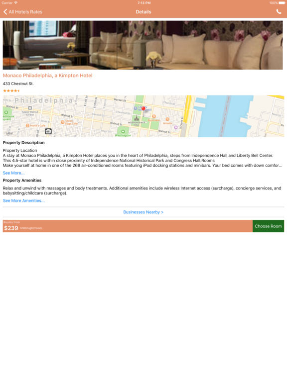 i4philadelphia - Philadelphia Hotels, Yellow Pages screenshot 10